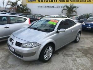 2005 Renault Megane II E84 Dynamique Silver 6 Speed Manual Cabriolet St James Victoria Park Area Preview