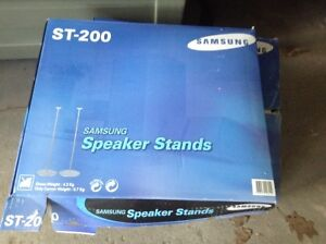 NEW Samsung sp-200 speaker system with stands for sale London Ontario image 2