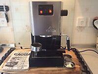 Gaggia Classic (Home Espresso/Pod Machine) + Tamper/Milk Jugs + possible lesson and setup