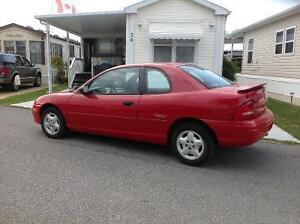 1997 Plymouth Neon Expresso Coupe (2 door)
