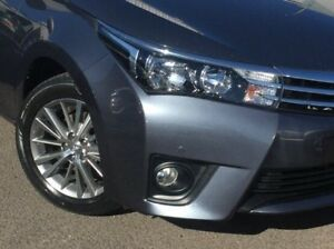2014 Toyota Corolla Grey Constant Variable Sedan