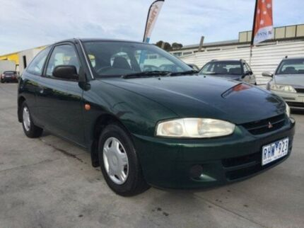 2001 Mitsubishi Mirage CE MY2002 Green 5 Speed Manual Hatchback Maidstone Maribyrnong Area Preview