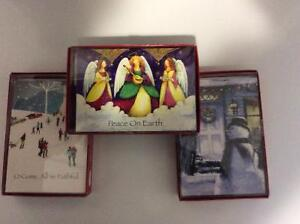 3 NEW  boxes of 18 count Christmas Cards