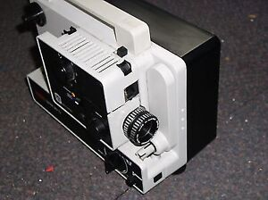 Eumig 607Dx 8mm/super 8 Projector w/Eumig Daylight Viewer