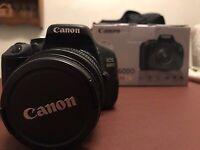 Canon 600d + lens