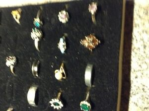 Large collection of costume rings for sale London Ontario image 5