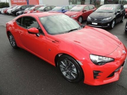 2017 Toyota 86 ZN6 GT Red 6 Speed Sports Automatic Coupe Oakleigh Monash Area Preview