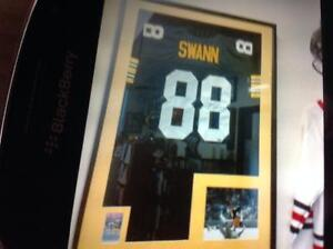 Lynn Swaan Signed Pittsburgh Steelers Football Jersey