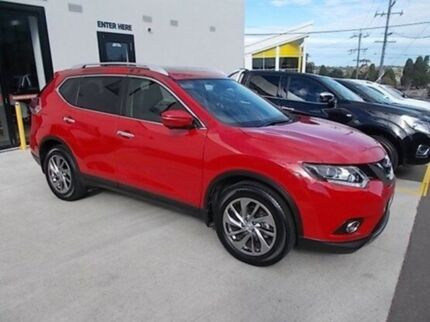 2016 Nissan X-Trail T32 Ti X-tronic 4WD Red 7 Speed Constant Variable Wagon