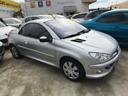 2006 Peugeot 206 T1 MY04 CC Silver 4 Speed Sports Automatic Cabriolet St James Victoria Park Area Preview