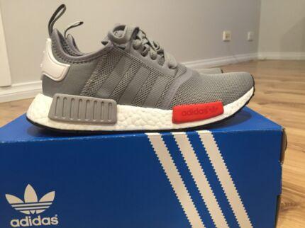 Adidas Nmd r1 grey / oxy - US 6 brand new in box