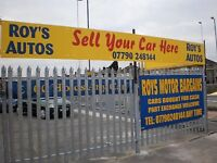 £100 OFF ANY CAR OVER £500 THIS WEEKEND @ ROYS