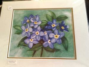For get me not prints by Nl artist Shirley Holden