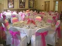 Chair covers & Balloons
