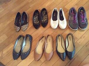 7 paires chaussures
