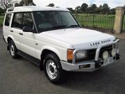 2002 Land Rover Discovery II 02MY S White 4 Speed Automatic Wagon Enfield Port Adelaide Area Preview