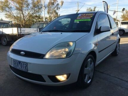 2005 Ford Fiesta WP Zetec White 4 Speed Automatic Hatchback Maidstone Maribyrnong Area Preview