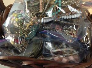 Bags of Jewelry for Resale or Repair much of it Vintage
