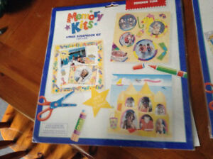 Scrapbooking memory kits for sale London Ontario image 1