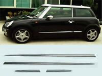 Wellstar OCP-SMCMIN10 Custom Chrome Side Moulding Cover Mini Cooper `02 on