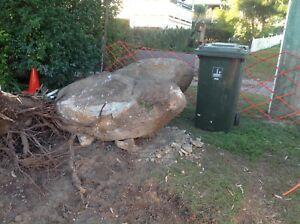 Sandstone boulders Coorparoo Brisbane South East Preview