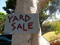YARD SALE - SATURDAY, AUGUST 18!!! 8AM - 12PM!