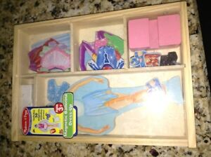 Melissa and Doug magnetic ballerina dress up set for sale London Ontario image 1