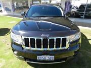 2011 Jeep Grand Cherokee WK MY2011 Limited Black 5 Speed Sports Automatic Wagon Victoria Park Victoria Park Area Preview