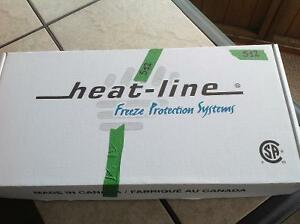 Freeze Protection Heat Line Cable Set PALADIN 20ft 120V Kawartha Lakes Peterborough Area image 2