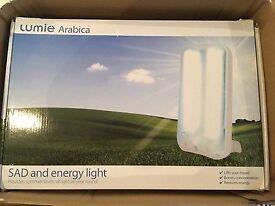 Lumie Arabica SAD and energy light lamp NEW