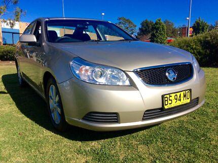 2010 Holden Epica CDX 2.5 Auto Sedan Low KM's Log Books