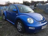 Volkswagen Beetle 1.6...2001reg...
