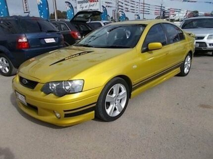 2003 Ford Falcon BA XR8 Yellow 4 Speed Sports Automatic Sedan Gepps Cross Port Adelaide Area Preview