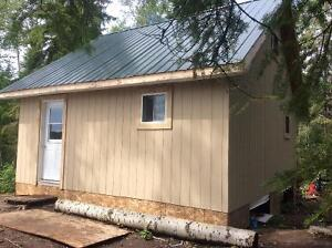 Two cabins, three parcels, Abitibi river!