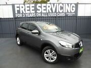 2013 Nissan Dualis J10W Series 4 MY13 ST Hatch X-tronic 2WD Grey 6 Speed Constant Variable Hatchback Old Reynella Morphett Vale Area Preview