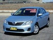 2011 Toyota Corolla ZRE152R MY11 Ascent Blue 4 Speed Automatic Sedan Run-o-waters Goulburn City Preview