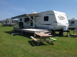 Reduced in price ...30 ft trailer