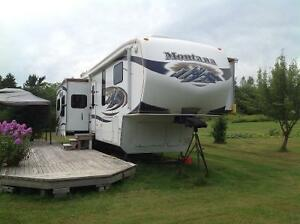 Fifth wheel Montana 3455SA