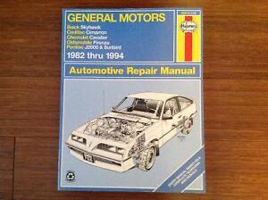 Haynes Repair Manual - General Motors 1982 - 1994
