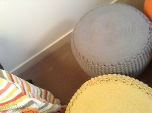 Ottoman/throw rugs/vases Leopold Geelong City Preview