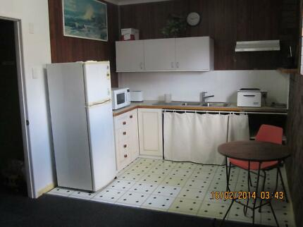Self contained unit,close to bus and shops.