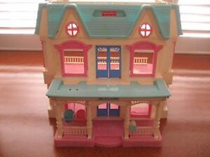 FISHER PRICE DOLLS HOUSE AND FURNITURE Coorparoo Brisbane South East Preview