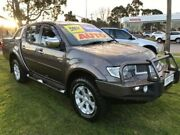 2013 Mitsubishi Triton MN MY13 GLX-R Double Cab Grey 5 Speed Sports Automatic Utility Upper Ferntree Gully Knox Area Preview
