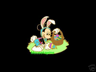 EASTER RABBIT MICKEY with Easter Basket Disney 2005 Pin