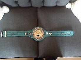 Pacquiao signed belt