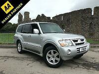 2004 Mitsubishi Shogun 3.2DI-D Auto Warrior **7 Seats - Only 80,000 Miles**