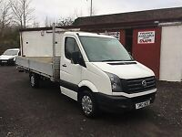 2012 VOLKSWAGEN CRAFTER CR35 2.0TDi 163PS XLWB 5 METER - 16FT ALLOY DROPSIDE