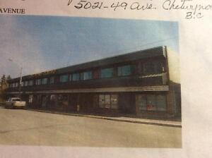 14950 sq ft comm office/retail building for sale Chetwynd, BC