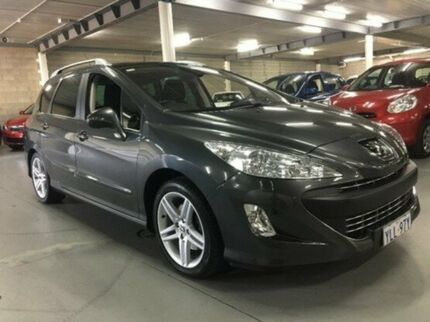 2011 Peugeot 308 T7 Sportium Touring Grey 6 Speed Sports Automatic Wagon
