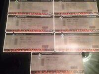 3 x Wales v England Tickets, Half-way line seats!!